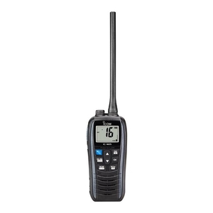 Image of Icom IC-M25 Waterproof Buoyant Handheld VHF Transceiver - Metallic Grey