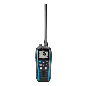 Image of Icom IC-M25 Waterproof Buoyant Handheld VHF Transceiver - Marine Blue