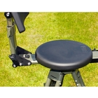 Image of Idleback Shotgun Chair - Round Seat - Black