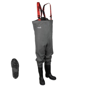 Image of Imax Nautic Chest Waders - Cleated Sole With Studs