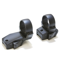 Innomount 2 Piece Offest QR Mount - Weaver/Picatinny to 30mm Rings (25mm Offset) - 17mm (Med)