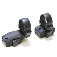 Innomount 2 Piece Offest QR Mount - Weaver/Picatinny to 30mm Rings (25mm Offset) - 17mm (Med)