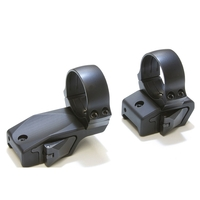 Innomount 2 Piece Offest QR Mount - Weaver/Picatinny to 30mm Rings (25mm Offset) - 14mm (Std)