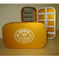 Izaak Walton 6 Inch Compartmental Fly Box
