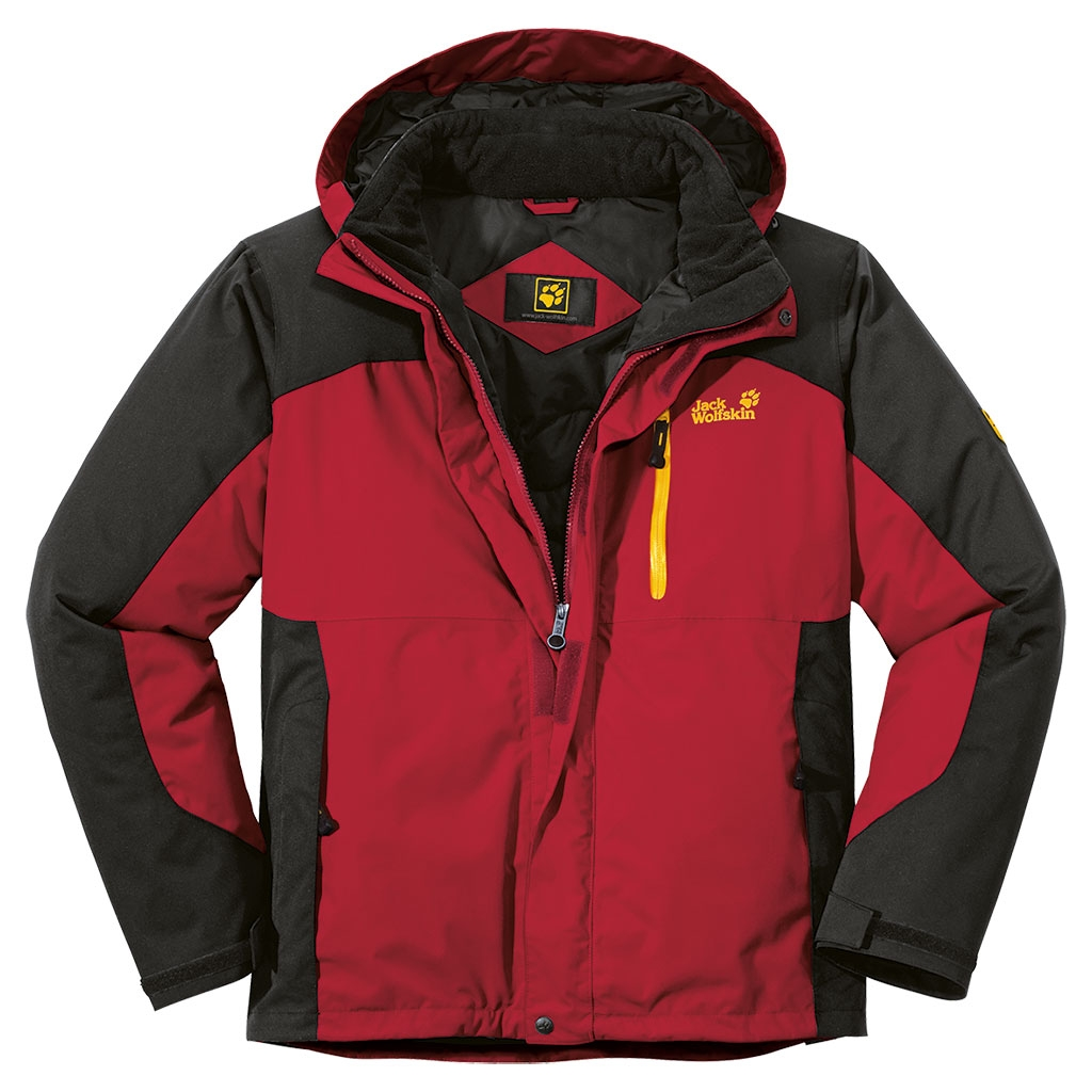 Jack Wolfskin Cold Trail Jacket Indian Red