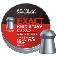 JSB Exact King Heavy Pellets - .25 x300