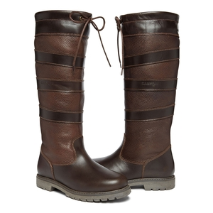 Image of Kanyon Outdoor Rowan 2 WP Country Boots - Standard Calf (Women's) - Mahogany Smooth & Tumbled Grain