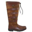 Image of Kanyon Outdoor Maple Country Boot - Wider Fitting Leg (Unisex) - Chocolate