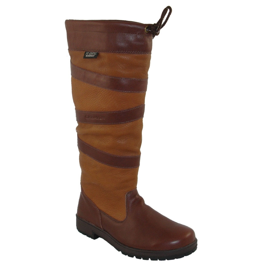 genuine shoes pretty cool available Kanyon Outdoor Oak Country Boot - Wider Fitting Leg (Women's) - Chocolate