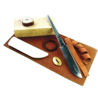 Karesuando Knife Making Kit - 10cm Carbon Blade