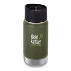 Klean Kanteen WIDE Vacuum Insulated - 355ml (12oz) Cafe Cap 2.0