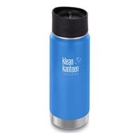 Klean Kanteen WIDE Vacuum Insulated - 473ml (16oz) Cafe Cap 2.0