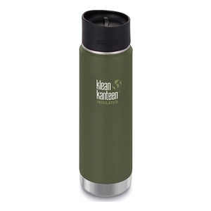 Image of Klean Kanteen WIDE Vacuum Insulated - 592ml (20oz) Cafe Cap 2.0 - Fresh Pine (Matte)