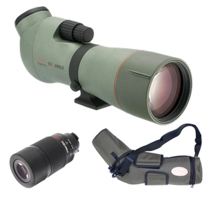 Image of Kowa TSN-773 77mm Prominar XD Angled Spotting Scope Kit With 25-60x Wide Zoom Eyepiece & Stay-On Case