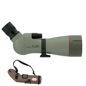 Image of Kowa TSN-883 88mm Prominar Angled Spotting Scope with 25-60x Wide Zoom Eyepiece, and Stay On Case