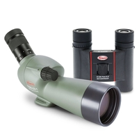 Kowa Ultra Compact Garden Kit - TSN-501 Angled Spotting Scope & SV 8x25 Binoculars