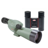 Kowa Ultra Compact Garden Kit - TSN-502 Straight Spotting Scope & SV 8x25 Binoculars