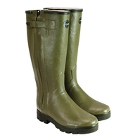 Le Chameau Chasseur Fouree Wellington Boots (Progressive Calf) (Men's)