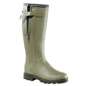 Image of Le Chameau Chasseurnord Wellington Boots (Women's) - Vert Vierzon