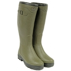 Image of Le Chameau Country Lady Fourree Wellington Boots (Women's) - Vert Chameau