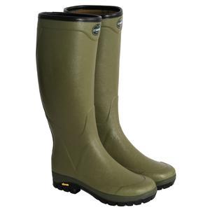 Image of Le Chameau Country Vibram Wellingtons (Unisex) - Green