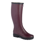 Image of Le Chameau Giverny Wellington Boots (Women's) - Cherry