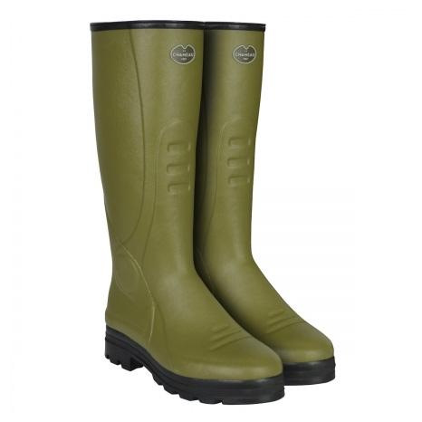 b5def3a8331 Le Chameau Traqueur Neo Wellingtons (Men's) - Vert Vierzon (Green)