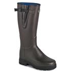Image of Le Chameau Vierzonord Wellington Boots (Men's) - Brown (Marron Fonce)