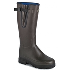 Image of Le Chameau Vierzonord Wellington Boots (Women's) - Brown