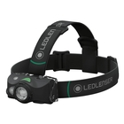 Image of LED Lenser MH8 Rechargeable Headlamp - Black