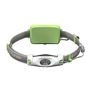 Image of LED Lenser NEO6R Rechargeable Headlamp - Green
