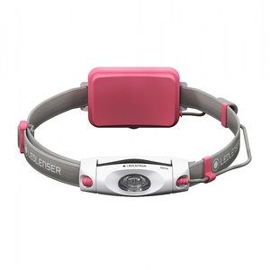 Image of LED Lenser NEO6R Rechargeable Headlamp - Pink