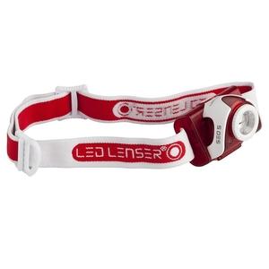 Image of LED Lenser SEO5 Head Lamp - Red