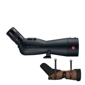 Image of Leica APO Televid 82 Angled Spotting Scope with 25-50x WW ASPH Eyepiece and Ever-Ready Case