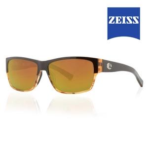 Image of Lenz Dee Acetate Sunglasses - Brown Tortoise / Bronze Mirror