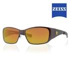 Image of Lenz Litza Titanium / Carbon Sunglasses - Brown / Bronze Mirror