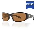Image of Lenz Nordura Acetate Sunglasses - Black / Brown