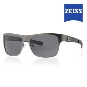 Image of Lenz Selá Titanium / Carbon Sunglasses - Grey / Grey