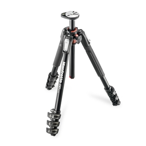Image of Manfrotto MT190XPRO4 Aluminium Tripod - 4 Leg Sections
