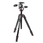 Manfrotto MK190GOA4-3WX 190 Go! MS Aluminium 4 Section Tripod Kit With XPRO 3-Way Head