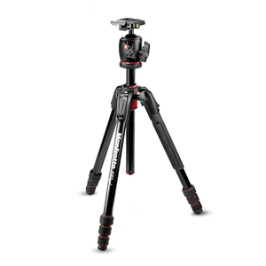 Image of Manfrotto MK190GOA4-BHX 190 Go! MS Aluminium 4 Section Tripod Kit With XPRO Ball Head