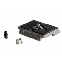 Manfrotto 200PL Quick Release Plate with 1/4'' Screw and Rubber Grip