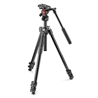 Manfrotto Manfrotto 290 Light Aluminium Tripod with Befree Live Fluid Video Head (MVH400AH)