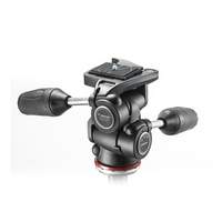 Manfrotto MH804 3 Way Head Mark II In Adapto With Retractable Levers