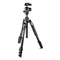 Manfrotto MKBFRLA4BK Befree Advanced Aluminium Travel Tripod - Lever Version - Centre Ball Head