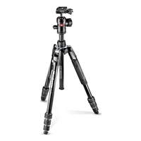 Manfrotto MKBFRTA4BK Befree Advanced Aluminium Travel Tripod - Twist Version - Centre Ball Head