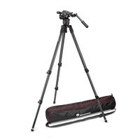 Manfrotto MVKN8C Nitrotech N8 Fluid Video Head & 535 Single Leg Tripod