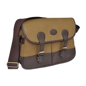 Image of Maremmano Brown Leather 2 Pocket Satchel - Tan