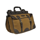 Image of Maremmano Brown Leather Double Sided Travel Bag - Brown