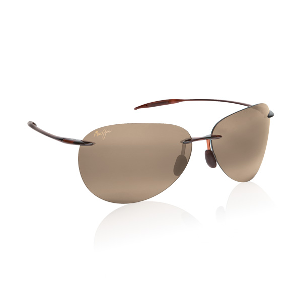861559a7d Image of Maui Jim Sugar Beach Polarised Sunglasses - Rootbeer / Bronze